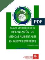 Manual Metodologico en Implantacion de Medias Ambientales en Nuevas Empresas