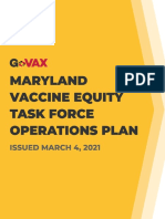 Vaccine Equity Task Force Operations Plan