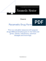 Paramedic Drugs In EMS