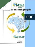 NFS-e Manual de Integracao Versao 2.03 Alteracoes