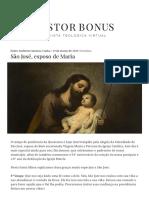 São José, Esposo de Maria