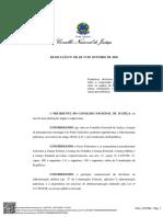 resoluçao CNJ cooperação