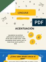 Lenguaje acentuación