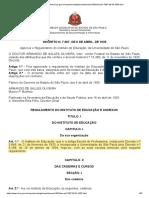 decreto-7067-06.04.1935 - Approva o Regulamento do Instituto de Educação, da Universidade de São Paulo