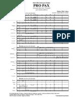Pro Pax - 00 Partitura