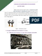 Chapitre 3 Mécanismes à CAMES + Applications VET