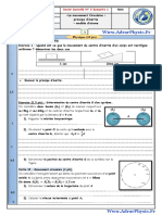 Controle 3 . 7 S1 TC 19 - 20 (Www.AdrarPhysic.Fr)