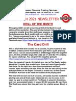 2021 03 RFTS Newsletter