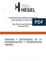 Módulo Intermediación, Tercerización, MYPES y modalidades formativas - oct 2020