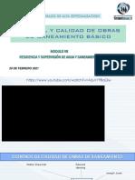 CONTROL Y CALIDAD  DE O SANEAMIENTO
