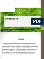 Bioquimica aula 1