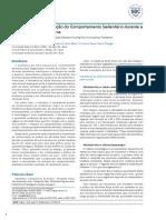 Atividade Física e Redução Do Comportamento Sedentário Durante a Pandemia Do Coronavírus