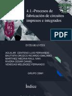 Circuitos Impresos e integrados
