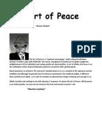 The Art of Peace by Morihei Ueshiba And