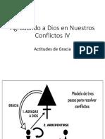 Agradando a Dios en Nuestra conflictos IV