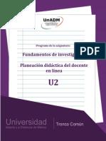 Unidad 2 Planeación didáctica. (1)