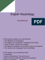 PPT MORPHOLOGY WEEK 2