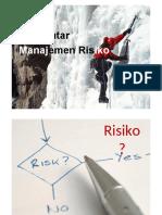 Materi 2P - Pengantar Manajemen Risiko-versi1