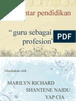 4. Guru Sebagai Satu Profesion