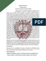 REPORTE PSICOLOGICo