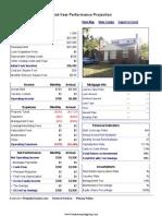10960 Rossiter - Performance Report