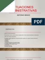 Situaciones Administrativas Diapositivas Parte 1