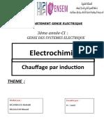rapport de chauffage par induction