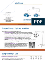 CM surgical lamp pp