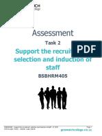 Assessment Task 2 - BSBHRM405