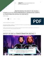 Définition _ Transformation Digitale en 2020 Et Ses Enjeux + Exemples (1)