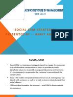 SOCIAL CRM  STRATEGIES