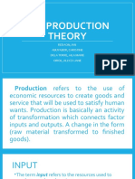 THE PRODUCTION THEORY