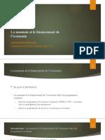 Monnaie Et Financement PF 2018 Rodrigues