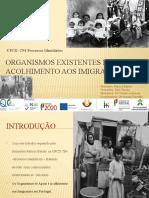 Organismos de Apoio e Acolhimento Aos Imigrantes Em Portugal