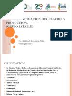 GRUPOS DE CREACION, RECREACION Y PRODUCCION 2019-2020