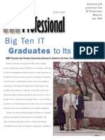 AMS Teaches the Purdue University Intranet to Stand on Its Own Two Feet