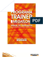 Manual Trainer Megatlon 2016