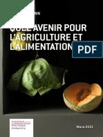 Fondapol Etude Quel Avenir Pour l'Agriculture Et l'Alimentation Bio Gil Kressmann 03 2021