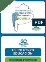 Educacion 100propuestas.com.ar