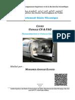 Usinage CN & FAO 2020