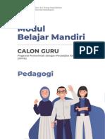 Modul Bahan Belajar - Pedagogi - 2021
