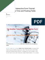 SAP Adobe Interactive Form Tutorial_Parte 3
