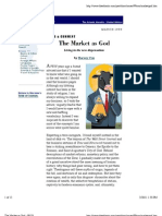 The Market as God - Harvey Cox