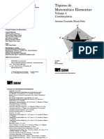 Tópicos de Matemática Elementar, Volume 4 Combinatória by Antonio Caminha Muniz Neto (Z-lib.org)