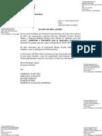 PJ decidirá participación de Domingo Pérez contra Arsenio Oré.
