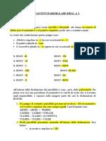Lezione Sui Sostantivi Parisillabi Della 3 Declinazione