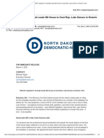 NDDemNPL Simons Press Release