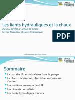 Module 1A Les Liants Hydrauliques 2014