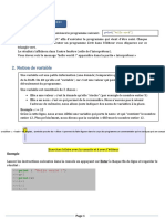 Python - Les bases  exercices