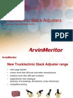 EXTERNAL - Trucktechnic Slack Adjusters 2011